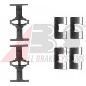 A.B.S. 1203Q Комплектующие, колодки дискового тормоза Хонда Интегра