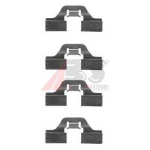A.B.S. 1211Q Комплектующие, колодки дискового тормоза Фиат Барчетта