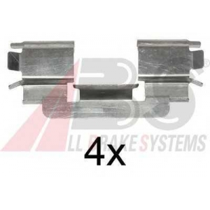 ABS 1216Q Disc brake elements