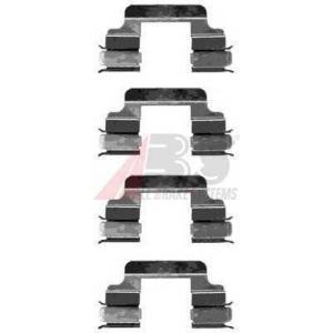 A.B.S. 1230Q Комплектующие, колодки дискового тормоза Мерседес Цлц-Класс