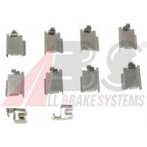 A.B.S. 1246Q Комплектующие, колодки дискового тормоза Додж Нитро