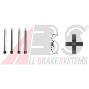 ABS 1266Q Комплектующие, колодки дискового тормоза