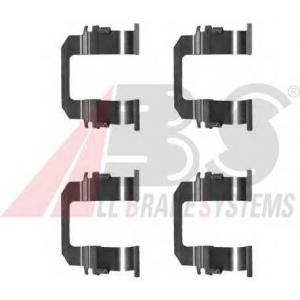 A.B.S. 1275Q Комплектующие, колодки дискового тормоза Опель Монтерей