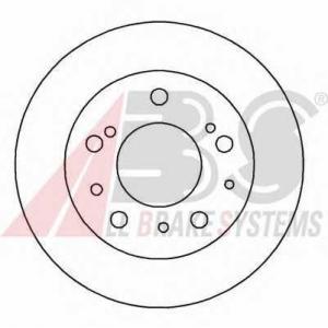 A.B.S. 15045 Тормозной диск Фиат Дукато