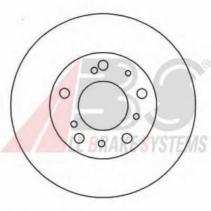 A.B.S. 15046 Тормозной диск Фиат Дукато