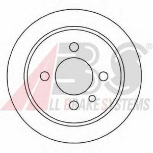 A.B.S. 15726 Тормозной диск Бмв 3