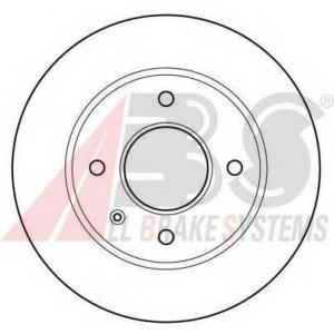 A.B.S. 15727 Тормозной диск Форд Орион