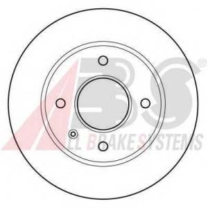 A.B.S. 15728 Тормозной диск Форд Сиерра
