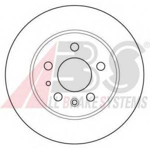 A.B.S. 15736 Тормозной диск Мерседес Купе
