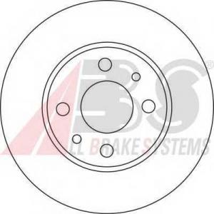 A.B.S. 15857 Тормозной диск Лансия