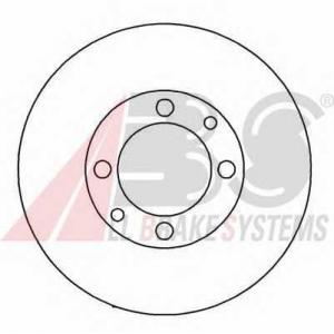 A.B.S. 15860 Диск тормозной ВАЗ 2108 передний (пр-во ABS)