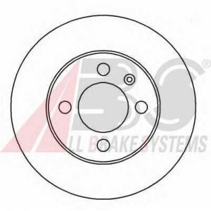 A.B.S. 15935 Диск тормозной SEAT/VW TOLEDO/CADDY/GOLF/VENTO передн. (пр-во ABS)