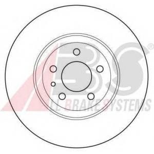 A.B.S. 15953 Тормозной диск Фиат