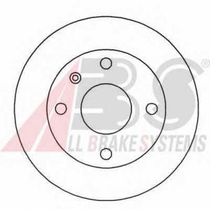 A.B.S. 15965 Тормозной диск Форд Орион