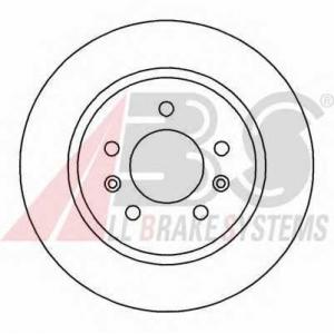 ABS 15982 Тормозной диск