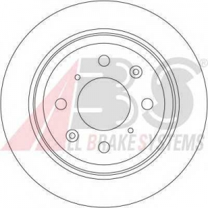 A.B.S. 15983 Тормозной диск Хонда Црх