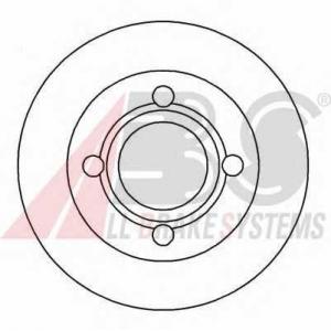 A.B.S. 16068 Тормозной диск Ауди 100