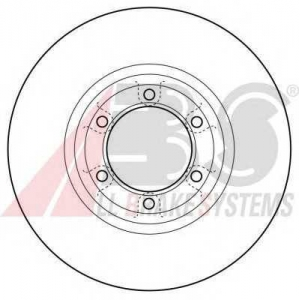 A.B.S. 16074 Тормозной диск Митсубиси Л 200