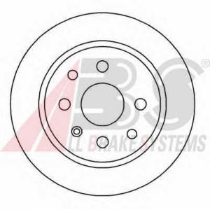 A.B.S. 16092 Тормозной диск Опель Калибра