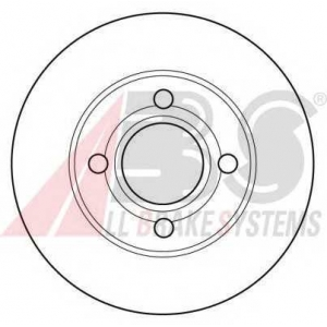 A.B.S. 16096 Тормозной диск Ауди 80