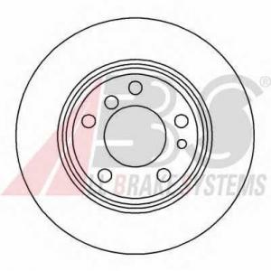 A.B.S. 16103 Тормозной диск Бмв 7