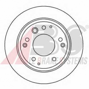 Тормозной диск 16140 abs -