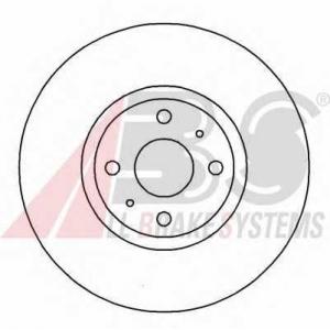 A.B.S. 16153 Тормозной диск Лансия