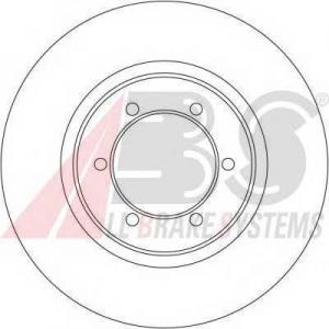A.B.S. 16168 Тормозной диск Митсубиси Л 200