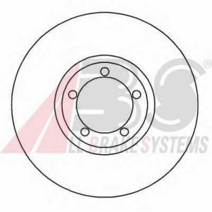A.B.S. 16195 Тормозной диск Форд Транзит