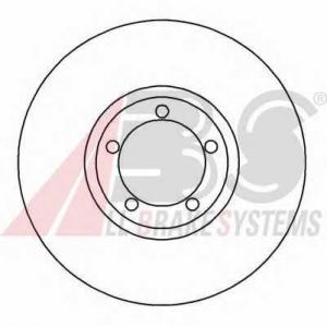 A.B.S. 16196 Тормозной диск Форд Транзит