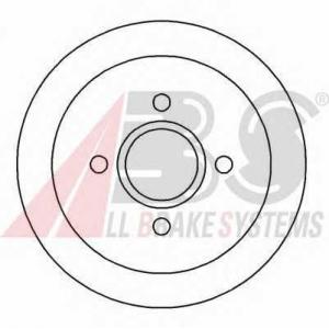 A.B.S. 16227 Тормозной диск Форд Орион