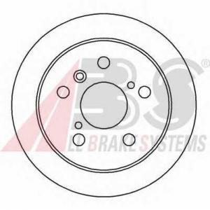 ABS 16229 Тормозной диск