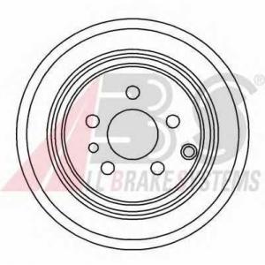 A.B.S. 16289 Тормозной диск Фиат
