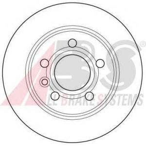 A.B.S. 16298 Тормозной диск Форд Галакси