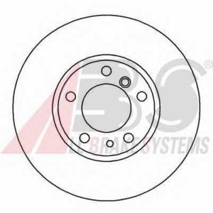 A.B.S. 16330 Тормозной диск Бмв 7