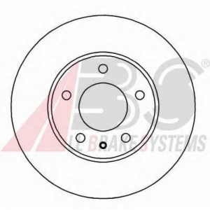 ABS 16524 Тормозной диск