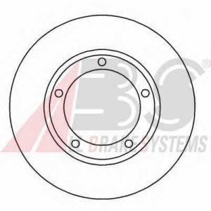 A.B.S. 16562 Тормозной диск Хюндай Н100