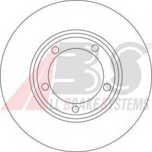 A.B.S. 16670 Тормозной диск Митсубиси Л 400