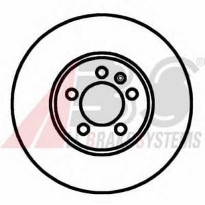 A.B.S. 16882 Тормозной диск Ауди А1