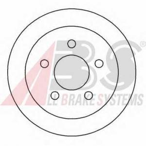 A.B.S. 16917 Тормозной диск Опель Синтра