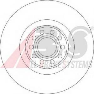 ABS 16929 Гальмiвнi диски