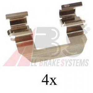 A.B.S. 1693Q Комплектующие, колодки дискового тормоза Киа Серато