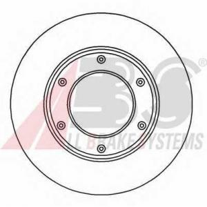 ABS 16941 Brake disc