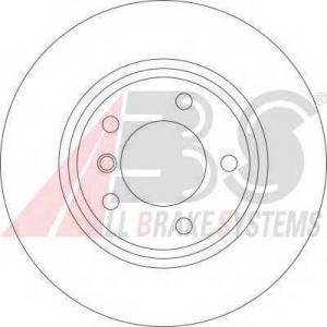 A.B.S. 17023 Тормозной диск Бмв З3