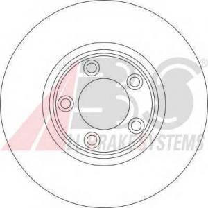 A.B.S. 17049 Тормозной диск Ягуар С Тайп