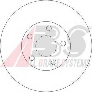 A.B.S. 17051 Тормозной диск Ягуар