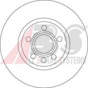 A.B.S. 17114 Тормозной диск Форд Галакси