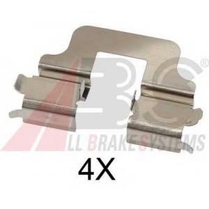 A.B.S. 1712Q Комплектующие, колодки дискового тормоза Форд Куга