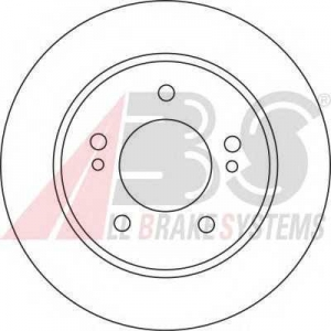 ABS 17139 Тормозной диск
