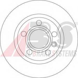 A.B.S. 17190 Тормозной диск Форд Галакси